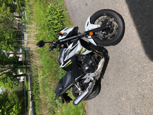 Motorcycle - 2015 Honda CB500F only 2400kms for sale