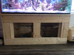 73 gallon fish tank and stand