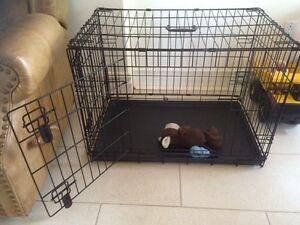 Dog Cage/Crate- Medium/Moyen Size