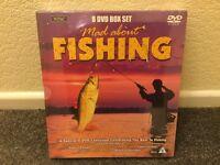 New Fishing x8 DVD's