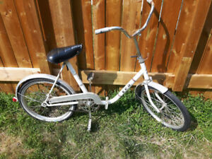 Vintage 1970 SCO folding bicycle