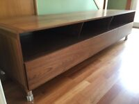 Dwell TV and storage bench