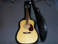 '''TAKAMINE'''ACOUSTIC GUITAR WITH CASE