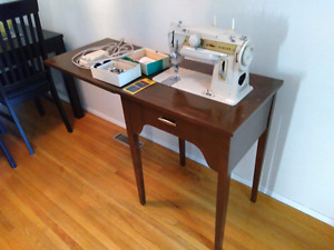 Singer sewing machine 70 s table