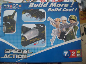 Build More, Build Cool! Block construction toy, age 7+. BNIB