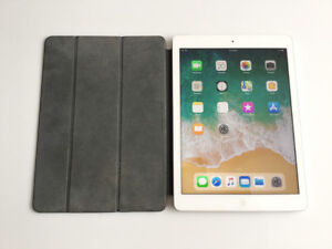 iPad Air 1 ~ 32GB WiFi + Cellular ~ Smart Cover ~ Apple-tested