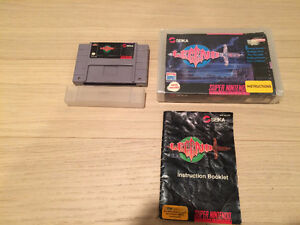 VERY Rare SNES Game. Legend with Box and Manual