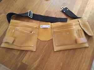 Leather tool belt Kitchener / Waterloo Kitchener Area image 1