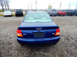 2001 Audi A4 Quattro Luxury Sedan Mint Low miles No Rust! London Ontario image 2
