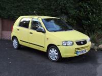 2004 Suzuki Alto 1.1 GL, PETROL, 5 DOOR, YELLOW, MANUAL