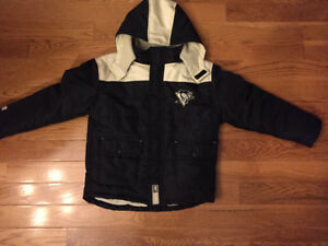 Boys Winter Pittsburgh Penguins Jacket-Size 10