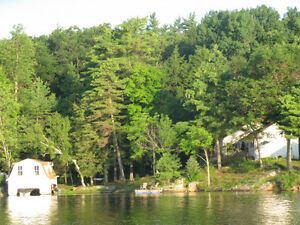 Charleston Lake - Webster's Bay Cottage Rental