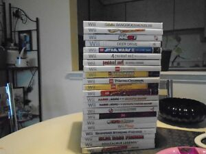 22 wii games plus extras