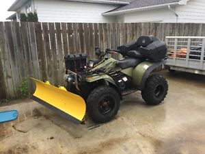 Sportsman 400 4x4 w/ Plow - Sell or Trade for 15/25 HP OB Motor