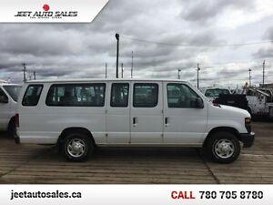 2009 Ford Econoline Wagon XLT E-350 15 Passenger Van Gas  - Low