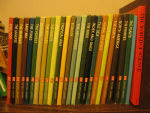 Life Nature Library Natural Word Series of Books 22 in Set