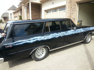 1962 Chevy Nova Wagon Fully Restored And Ready To Roll