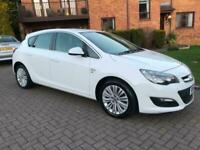 2014 Vauxhall Astra 1.4i 16V Excite 5dr HATCHBACK Petrol Manual