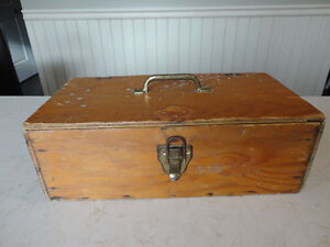 Custom Made Solid Wood Tool Box - from early 70's Kitchener / Waterloo Kitchener Area image 1