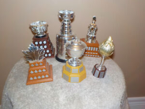 MCDONALD'S TOY : SET OF 6 NHL REPLICA TROPHIES