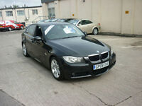2008 BMW 320 2.0TD auto Leather M Sport Finance Available