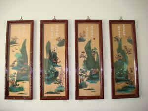 Exquisite oriental wall hangings