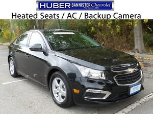 2016 Chevrolet Cruze Limited Turbo/Rear Camera/Remote Start