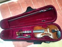 Stringers violin in great condition and a very expensive Violin. With Accessories