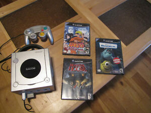 game-cube + 4 jeux