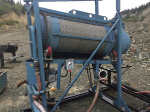 Gold cleanup trommel