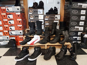 Men's and women's motorcycle boots on sale