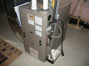 Gas Furnace, Luxaire, propane
