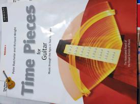 Guitar - Time pieces For guitar - volume 1 &2, grade 5 exam pieces.