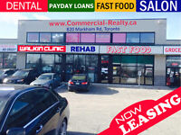 Now Leasing ! Retail Units in Busy Scarborough Plaza