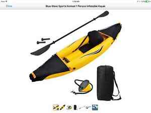 NEW Blue Wave Sports Nomad 1 person inflatable kayak