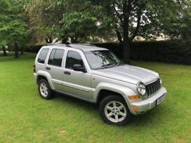 Jeep Cherokee 2.8TD ( 161bhp ) 4X4 Auto Limited 2005 80K Miles