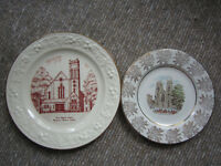 2 Vintage Collector's Plates