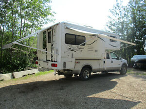 2003 Bigfoot camper/2005 Ford F350 package Strathcona County Edmonton Area image 2