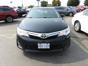 2012 Toyota Camry LE, 1 owner, certified, NEW TIRES