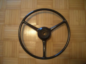 "Perfect Condition 17"" Antique Steering Wheel"