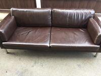IKEA 2 x 2.5 seater Sater sofas