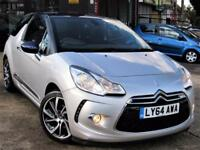 2015 CITROEN DS3 1.2 PURETECH DSTYLE PLUS STOP/START 3DR HATCHBACK MANUAL PETROL