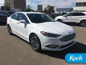 2017 Ford Fusion Titanium  Only 13000km, Cooled Seats, Nav, Moon