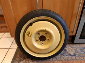 Space saver spare wheel