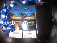 Grey Cup tickets.  $200 each ($100 off of each)