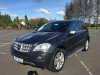 2010 10 MERCEDES-BENZ M CLASS 3.0 ML300 CDI BLUEEFFICIENCY SPORT 5D AUTO 204 BHP