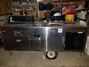 Food Cart, Hog Dog Cart