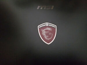 MSI gaming laptop. 17.3 inch screen