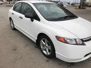 2008 Honda Civic LX, 4 door, automatic, Safetied!
