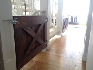 Barn Style Baby and Pet Gates